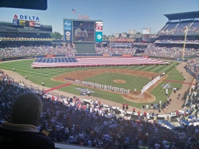 Opening Day For Last Time At Turner Field