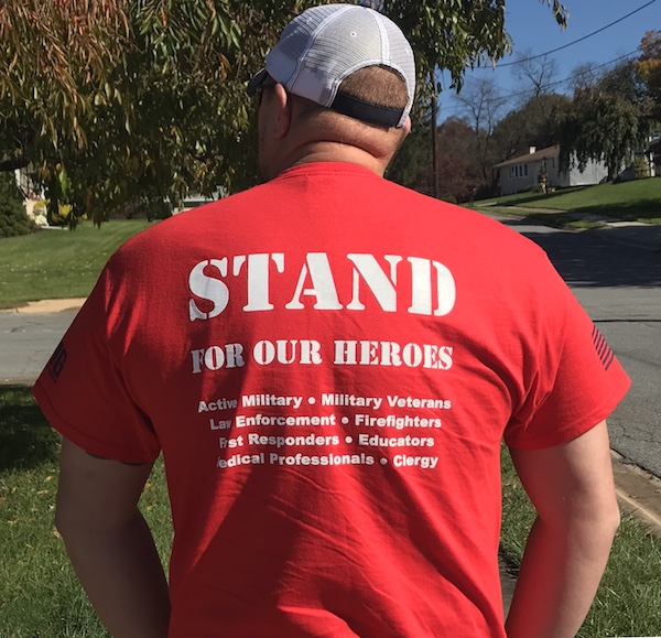 STAND FOR OUR HEROES APPAREL