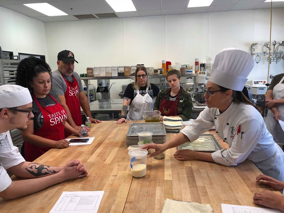 Culinary Bootcamp Builds Comradery