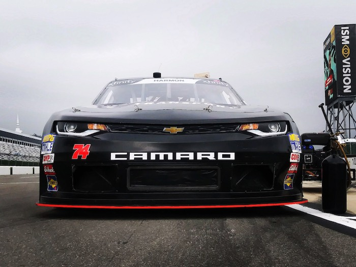 Mike Harmon takes on the Tricky Triangle in the Pocono Green 250
